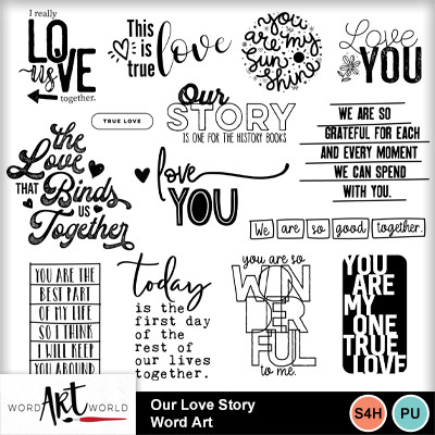 Our_love_story_word_art