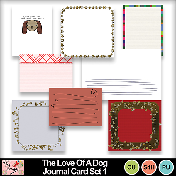 The_love_of_a_dog_journal_cards_set_1_preview
