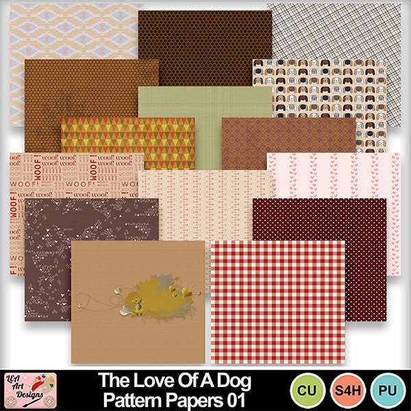 The_love_of_a_dog_pattern_papers_01_preview