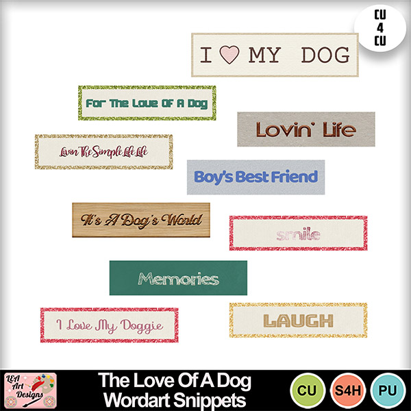 The_love_of_a_dog_wordart_snippets_preview_small