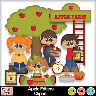 Apple_fritters_clipart_preview