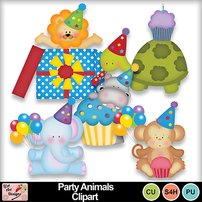 Party_animals_clipart_preview