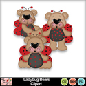 Ladybug_bears_clipart_preview_small