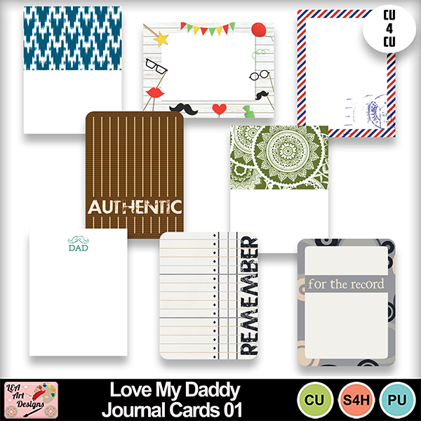 Love_my_daddy_journal_cards_01_preview