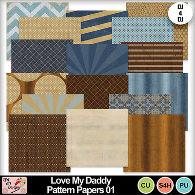 Love_my_daddy_pattern_papers_01_preview