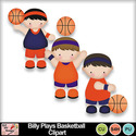 Billy_plays_basketball_clipart_preview_small