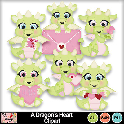 A_dragon_s_heart_clipart_preview