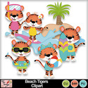 Beach_tigers_clipart_preview_small