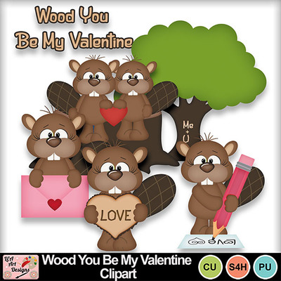 Wood_you_be_my_valentine_clipart_preview