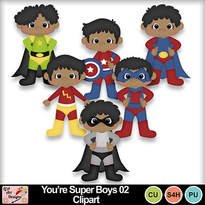 You_re_super_boys_02_clipart_preview