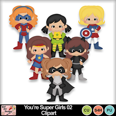 You_re_super_girls_02_clipart_preview
