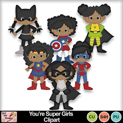 You_re_super_girls_clipart_preview