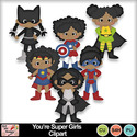 You_re_super_girls_clipart_preview_small