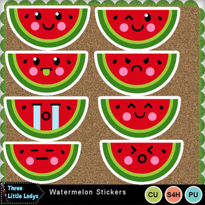 Watermelon_stickers-tll