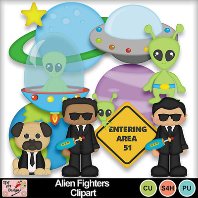 Alien_fighters_clipart_preview