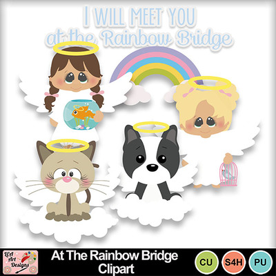 At_the_rainbow_bridge_clipart_preview
