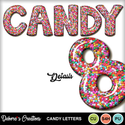 Candy_letters