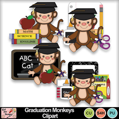 Graduation_monkeys_clipart_preview