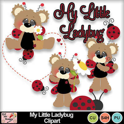 My_little_ladybug_clipart_preview