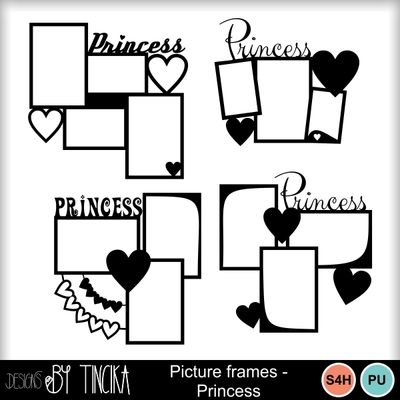 Picture_frames_-_princess_-_mms