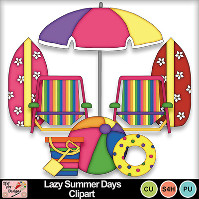 Lazy_summer_days_clipart_preview