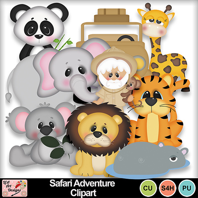 Safari_adventure_clipart_preview