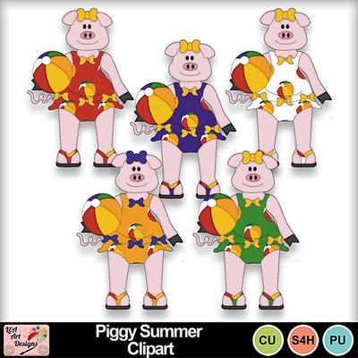 Piggy_summer_clipart_preview