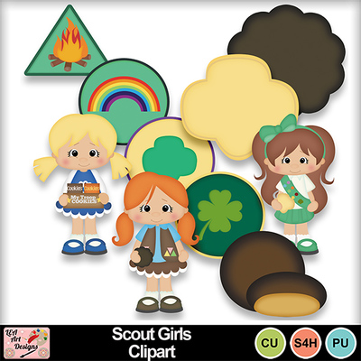 Scout_girls_clipart_preview