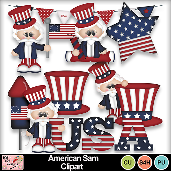 American_sam_clipart_preview