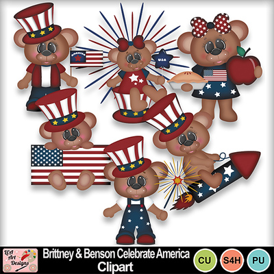 Brittney_and_benson_celebrate_america_clipart_preview