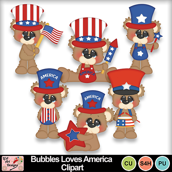 Bubbles_loves_america_clipart_preview
