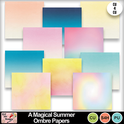 A_magical_summer_ombre_papers_preview