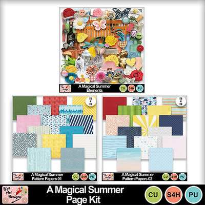 A_magical_summer_page_kit_preview