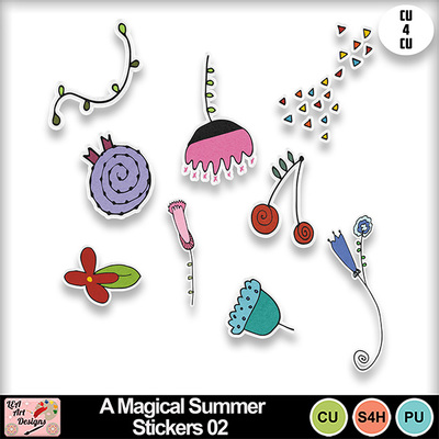 A_magical_summer_stickers_02_preview