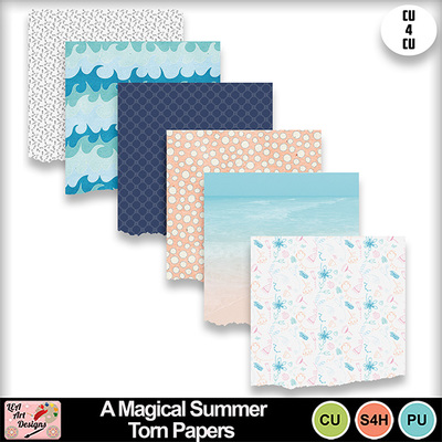 A_magical_summer_torn_papers_preview