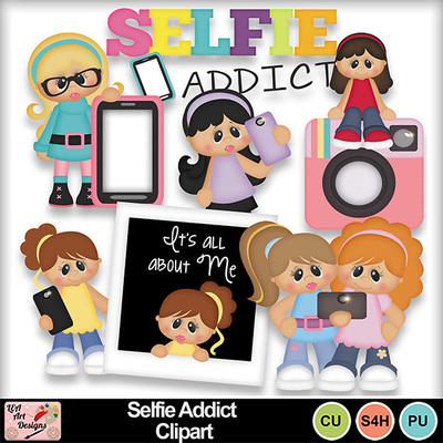 Selfie_addict_clipart_preview