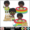 Summer_boys_african_clipart_preview_small