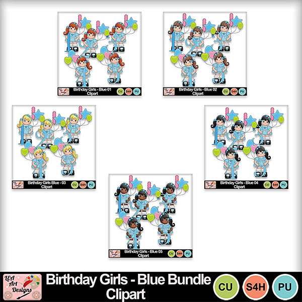 Birthday_girls_blue_clipart_bundle_preview