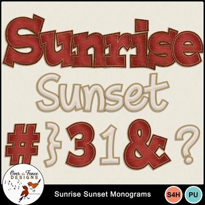 Sunrise_sunset_monograms