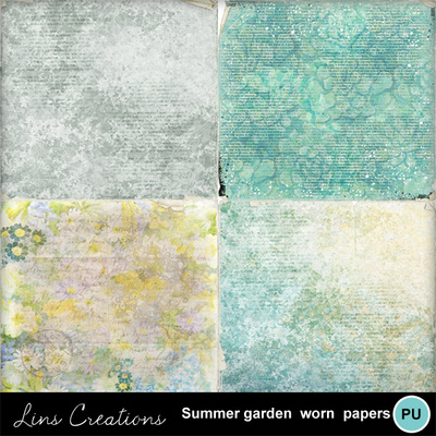 Summergardenwornpapers