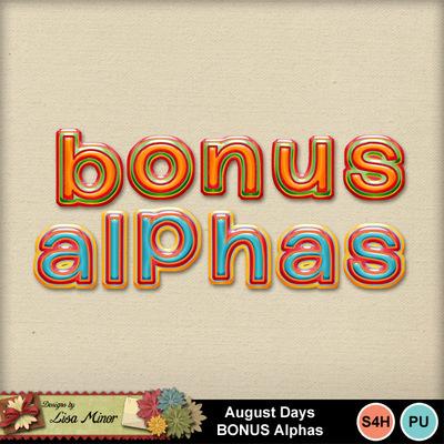 Augustdaysalphas