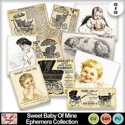 Sweet_baby_of_mine_ephemera_collection_preview