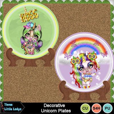 Decorative_unicorn_plates_1-tll