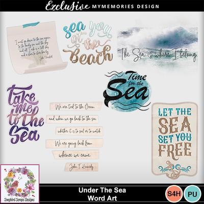 Under_the_sea_word_art