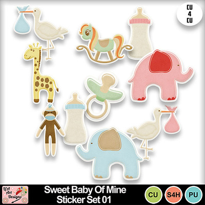 Sweet_baby_of_mine_stickers_set_01_preview