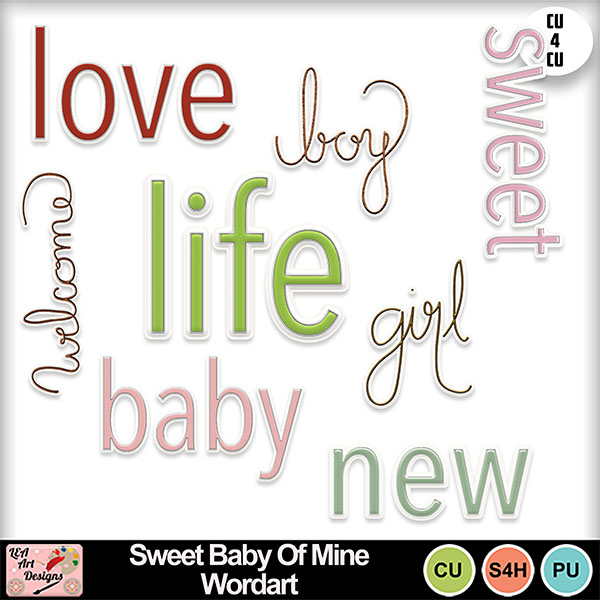 Sweet_baby_of_mine_wordart_preview