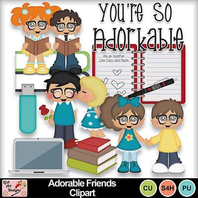 Adorable_friends_clipart_preview