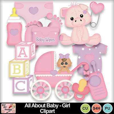 All_about_baby_girl_clipart_preview