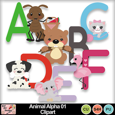 Animal_alpha_01_clipart_preview