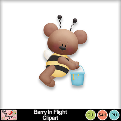 Barry_in_flight_clipart_preview